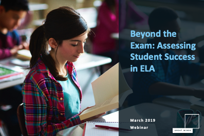 Beyond the Exam: Assessment in ELA