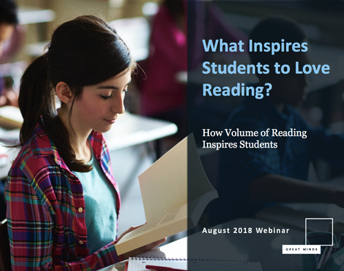 Volume of Reading Webinar