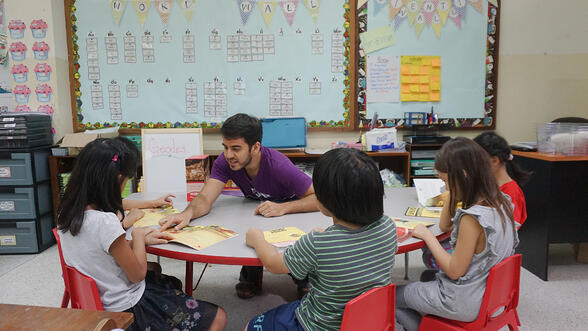 teacher with students-1